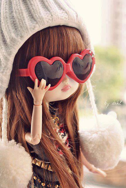 cute doll picture