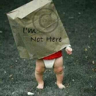 i am not here babies DPs for facebook