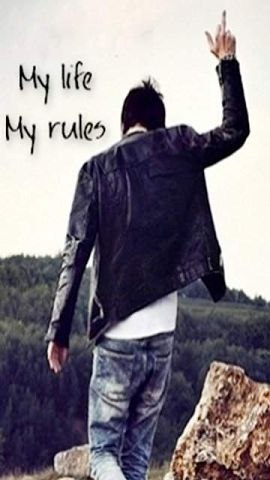 My Life Rules Facebook Profile Pictures For Boys