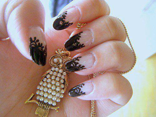 Beautiful Nail Art Picture for girls Profile