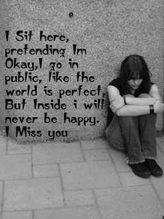 sad and missing girls Facebook profile pictures