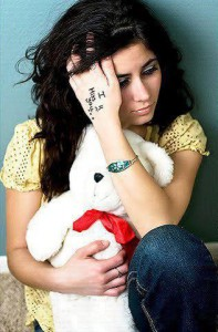 stylish missing girls facebook profile pictures with teddy bears