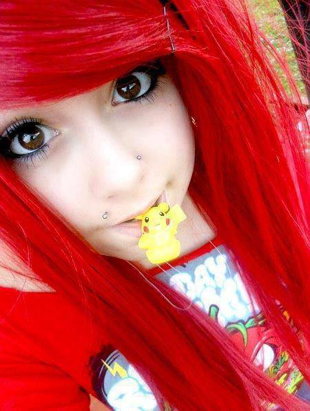very cute amazing emo girls Facebook profile pictures