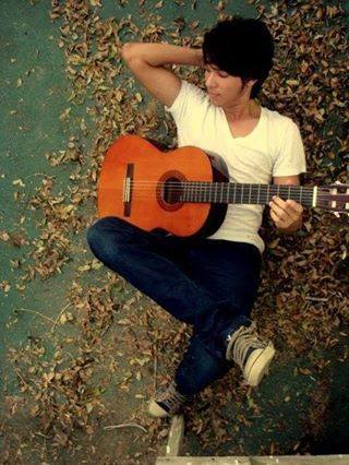 Alone Boy With Guitar Facebook Display Pictures