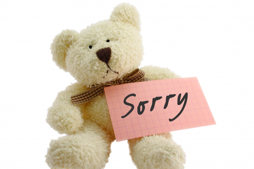 Sorry With Teddy bear Facebook Profile Pictures