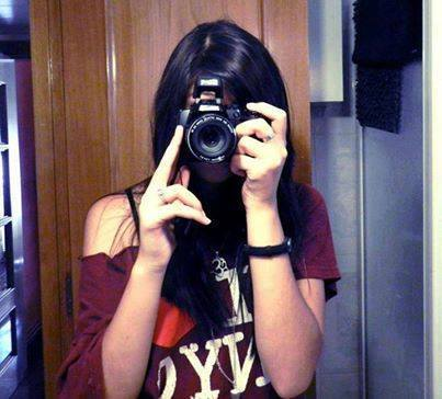 Cool Girls With Digital Camera Facebook Profile Pictures