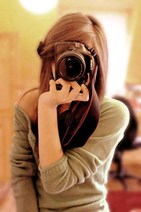 Stylish Hidden Face Girls Profile Pictures For Facebook With Camera