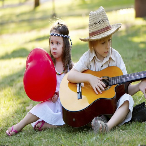Lovely Baby Couples Facebook Profile Pictures With Guitar
